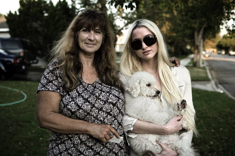 Day 17  — Janet & Daughter Marie and Puppy